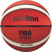 Мяч б/б MOLTEN B7G2000 р.7 FIBA Approved Level III резина